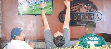 Parralenses disfrutaron el  triunfo de México