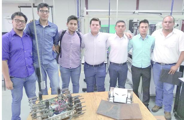 Alumnos del Tec ganan segundo lugar durante evento de robótica