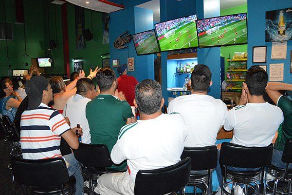 Aumentan juegos de México 40 % afluencia en restaurantes y bares