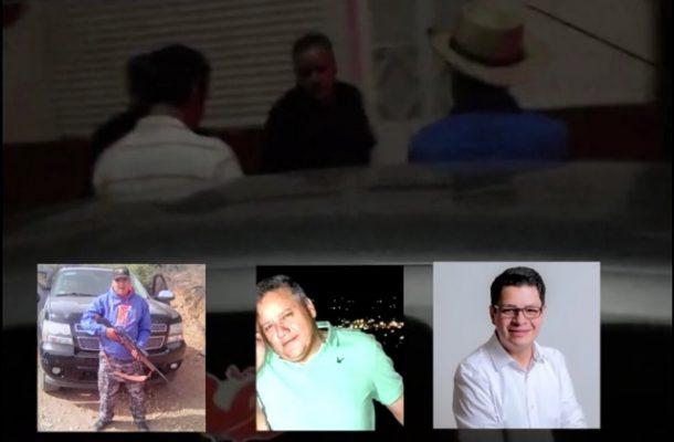 Difunden vídeo de candidato de Santa dando órdenes al Comandante de Policía