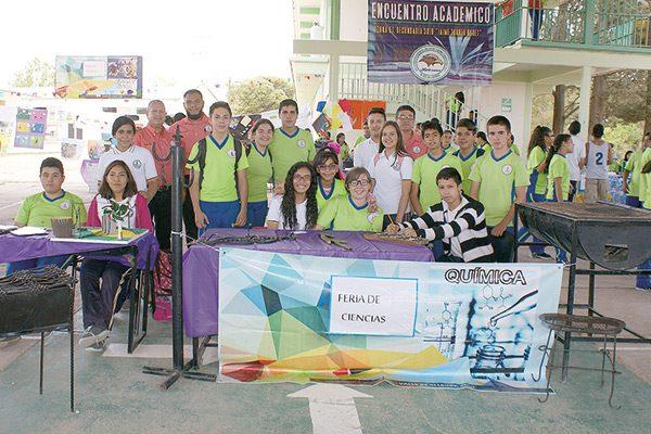 """Feria de la Ciencia en la Secundaria """"Jaime Torres Bodet de Valle de Allende, Chih."""