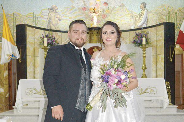 Celebran matrimonio religioso