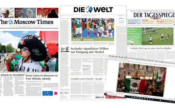 Chihuahuenses en periódicos rusos y la Selección en los Alemanes