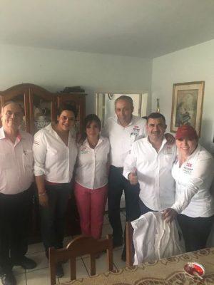 Recorrió Betty Chávez sectores de Reforma y Ampliación Juárez