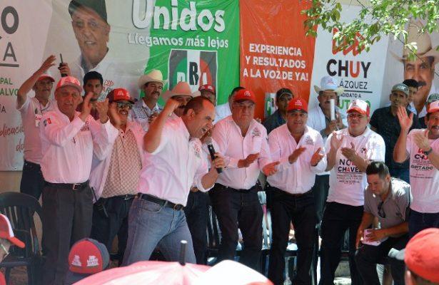 Histórica campaña de Noel Chávez en Guadalupe y Calvo, nunca se había visto tanto apoyo a un candidato