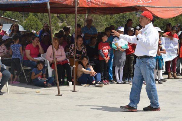 Anuncia Noel Chávez proyectos Turístico en la Hacienda y en la comunidad de El Zorrillo