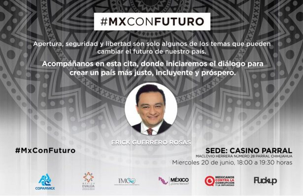 Invita COPARMEX a la conferencia #MXConFuturo