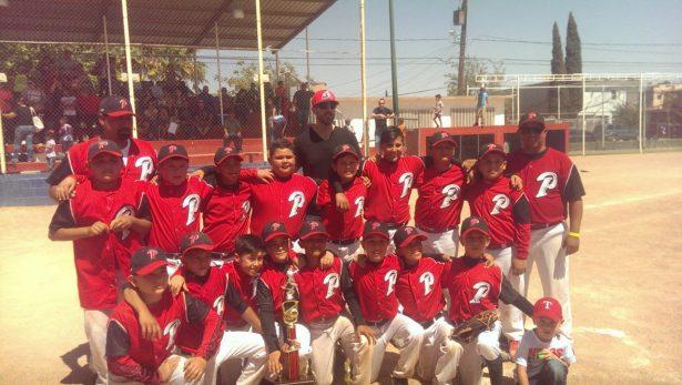 Parral campeón invicto en el estatal de beisbol 9-10 años