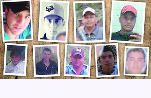 Están desaparecidas 33 personas desde 2015