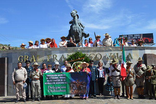 [Vídeo y Galería] Conmemoran el 95 aniversario luctuoso del general Francisco Villa