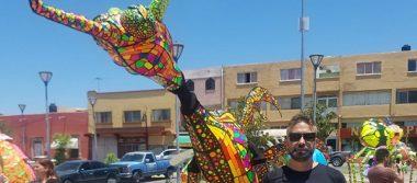Llamativa y pintoresca Caravana de Alebrijes