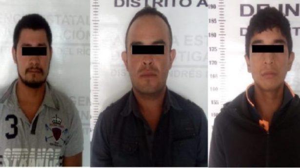 Detienen a tres presuntos responsables de un homicidio