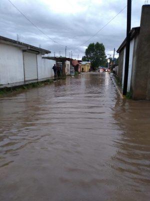 Azotó tormenta en Guachochi