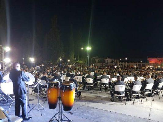 Hoy a las 6:00 de la tarde abrirá telón en la plaza de la identidad, la banda de música de la onceava región militar