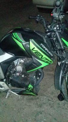 Motociclista lesionado en cruce de las calles Cenzontle y Bisznagas