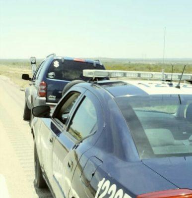 Roba vehiculo en Jiménez, lo detienen tras persecución