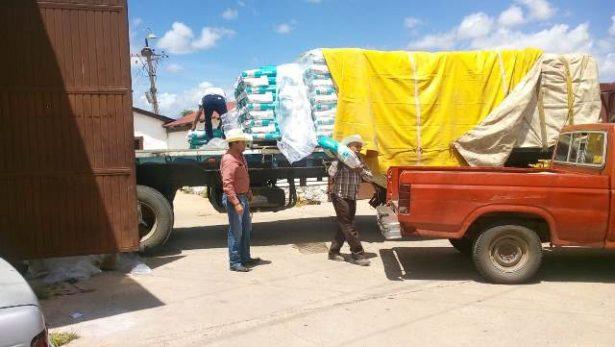 Entrega desarrollo rural del estado 41 toneladas de semilla