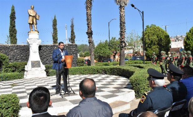 Anuncia el Alcalde, Alfredo Lozoya, la remodelación total de la Plaza Juárez