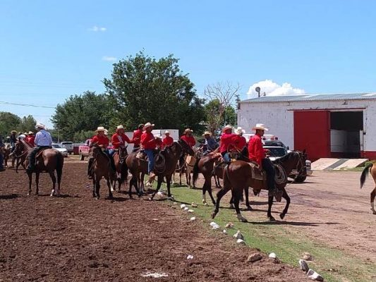 [Video] Llega cabalgata villista a Maturana