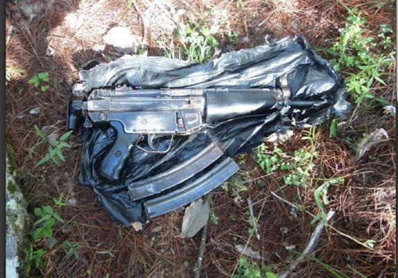 Agentes estatales aseguran ametralladora en Guadalupe y Calvo