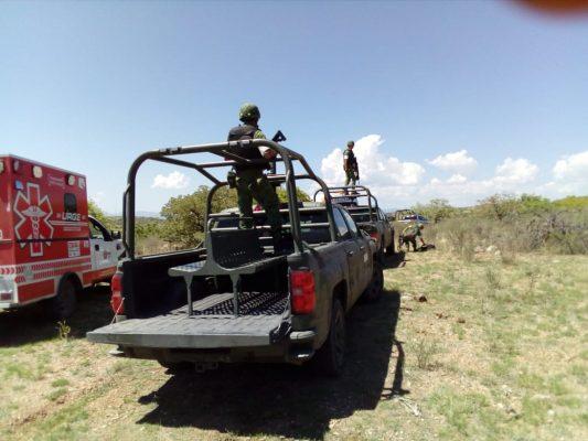 Movilizacion de autoridades policiacas por supuesta caida de avioneta rumbo a Matamoros