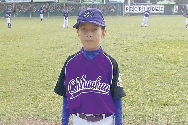Chihuahua apaleó aTamaulipas en nacional de beisbol sub-10