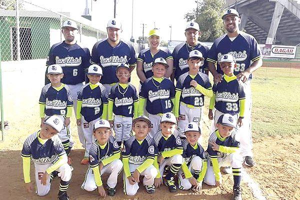 Cayó San Uriel de Parral en su debut en Nacional de Beisbol Williamsport 5-6 años