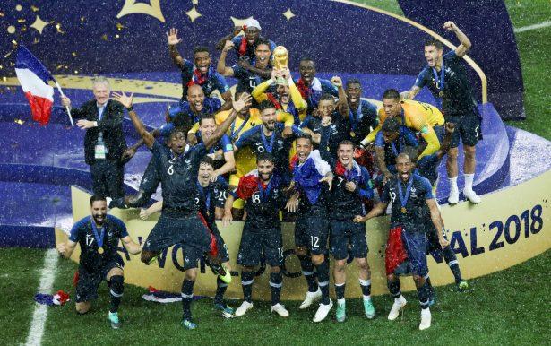 ¡Francia, campeón del Mundo!