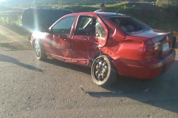 Accidente sobre la carretera Santa Bárbara- Parral deja un lesionado