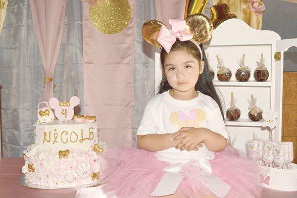 Con una divertida fiesta celebró Nicole su cuarto cumpleaños