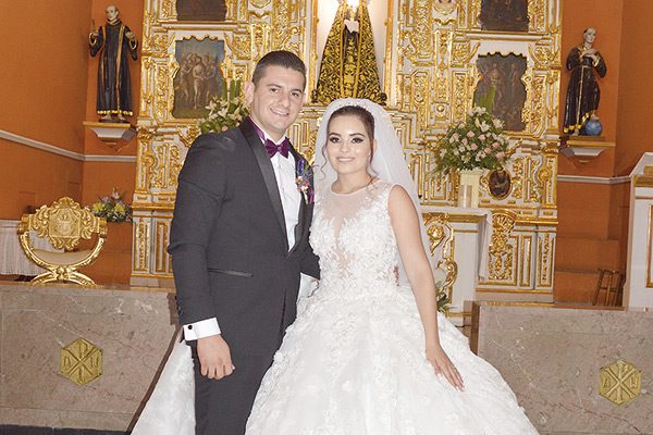 Enlace matrimonal de Erika Muñoz y Daniel Sáenz