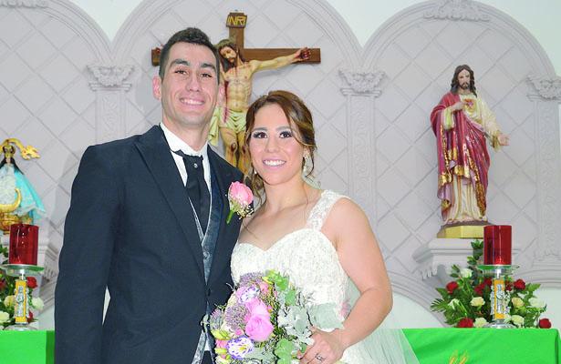 Bendicen su matrimonio