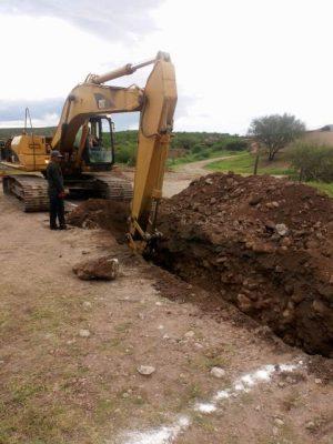 Más de 7 millones de pesos se invierten en alcantarillado para comunidad en alta marginación de Balleza