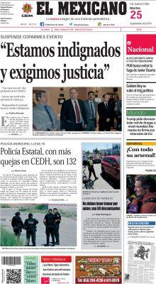 En protesta por el homicidio del presidente de Coparmex de Parral, empresarios adheridos a ese organismo suspendieron evento público