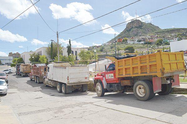 """Transportistas piden """"trabajo para todos"""""""