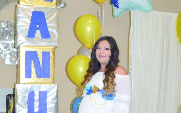 Presidió baby shower Anna Cristina Muñoz