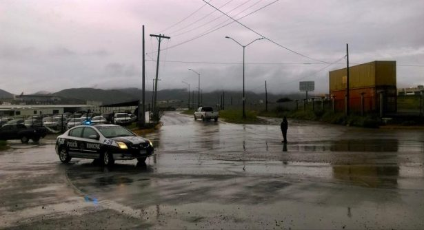 Recomiendan extremar precauciones al conducir bajo lluvia