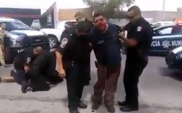 (VÍDEO) Policía municipal le quiebra pierna a ciudadano tras arresto en ciudad Chihuahua