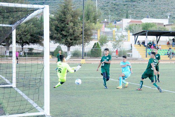 Real de Minas a semifinales del estatal de futbol juvenil