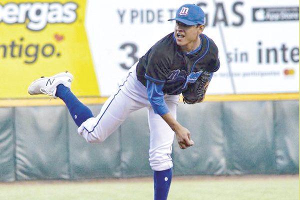 Manzaneros pega primero al iniciar la final del estatal de beisbol