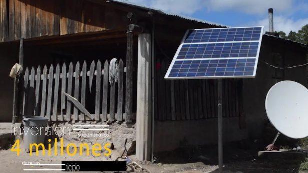 (Vídeo) Adquieren 200 celdas solares con un costo de 20 mil pesos cada una