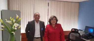 Presidente Guadalupe y Calvo inicia Gestiones con la Diputada Federal Ángeles Gutiérrez.