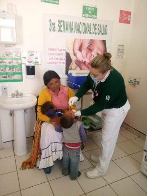IMSS Prospera fortalece la vacunación de niñas y niños de la sierra de Chihuahua, en 3era semana nacional de vacunación