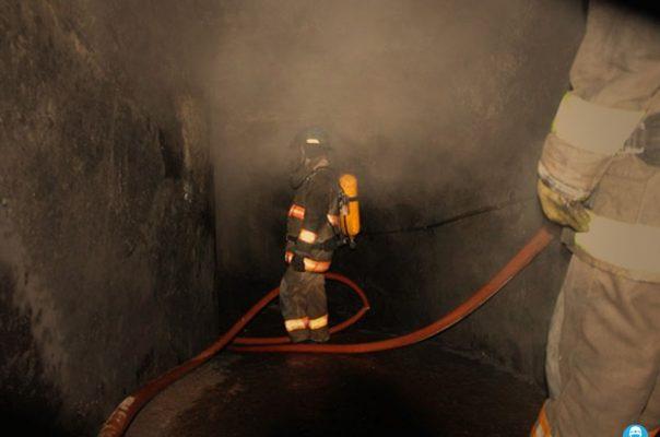 Controlado el incendio en mina de Santa; saldo de 8 intoxicados