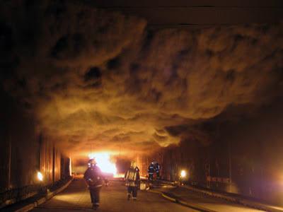 Reportan incendio en el nivel 15 de la mina Segovedad de Minera México