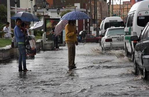 Prevén tormentas muy fuertes en Puebla, Edomex, Chiapas, Yucatán y Q. Roo