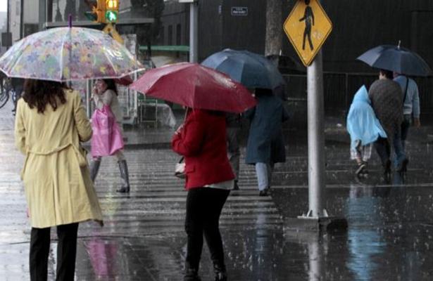 Nuevamente se espera lluvia intensa en la Ciudad de México