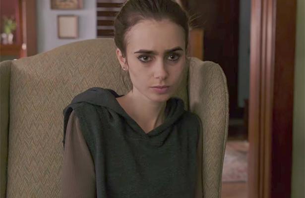 ¡Anoréxica! Así luce Lily Collins en la nueva cinta de Netflix