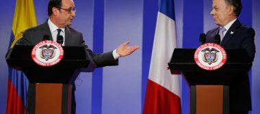 Manuel Santos y Hollande exhortan a combatir el terrorismo globalmente