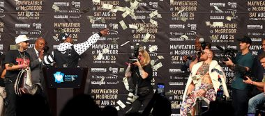 Cifras de otro mundo en pelea de Mayweather y McGRregor